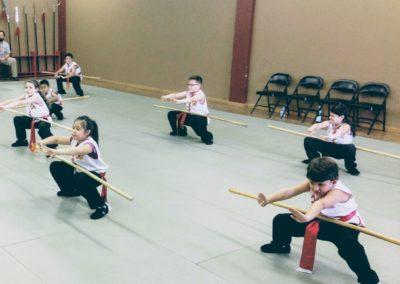 Kid Practicing