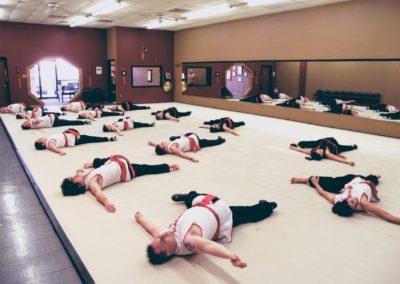 Stretching in Choy Li Fut Class